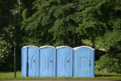 site toilet hire